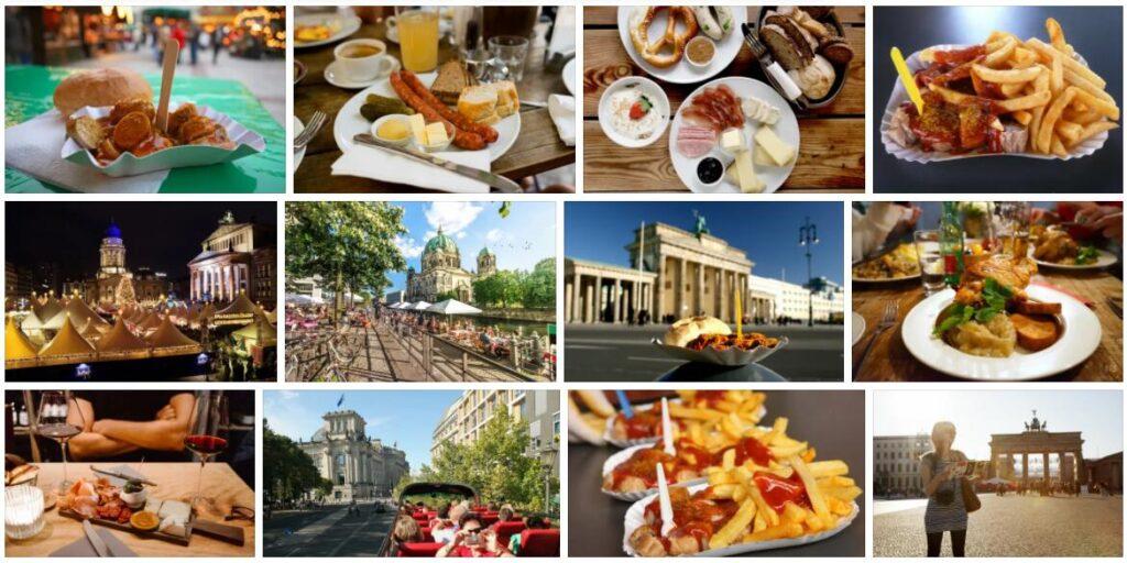 Eating in Berlin, Germany