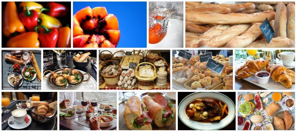 Food in Beziers, France