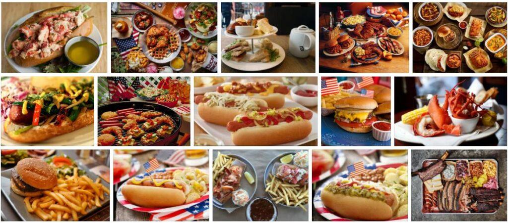 Food in Boston, USA