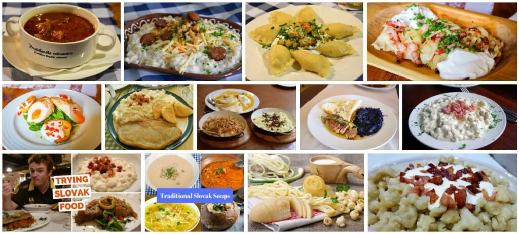 Food in Bratislava, Slovakia