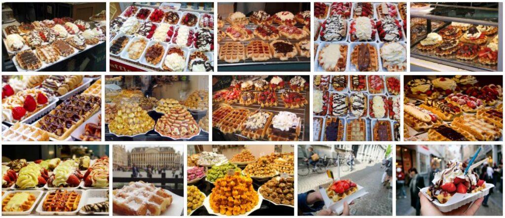 Food in Brussels, Belgium