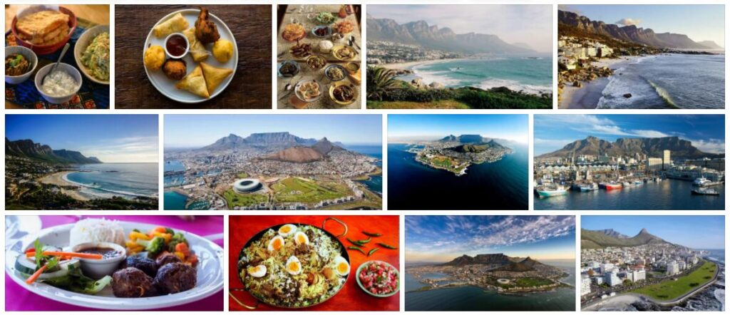 Food in Cape Town, South Africa