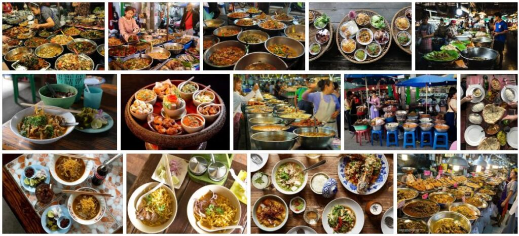 Food in Chiang Mai, Thailand