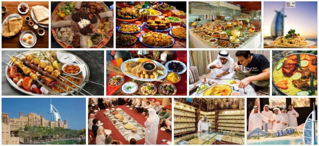 Food in Dubai, United Arab Emirates