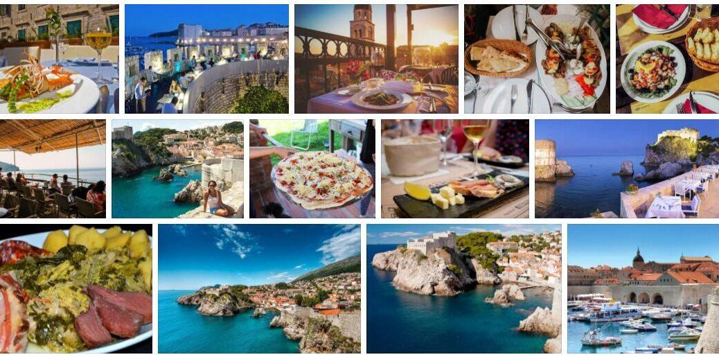 Food in Dubrovnik, Croatia