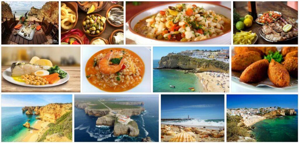 Food in Faro, Portugal