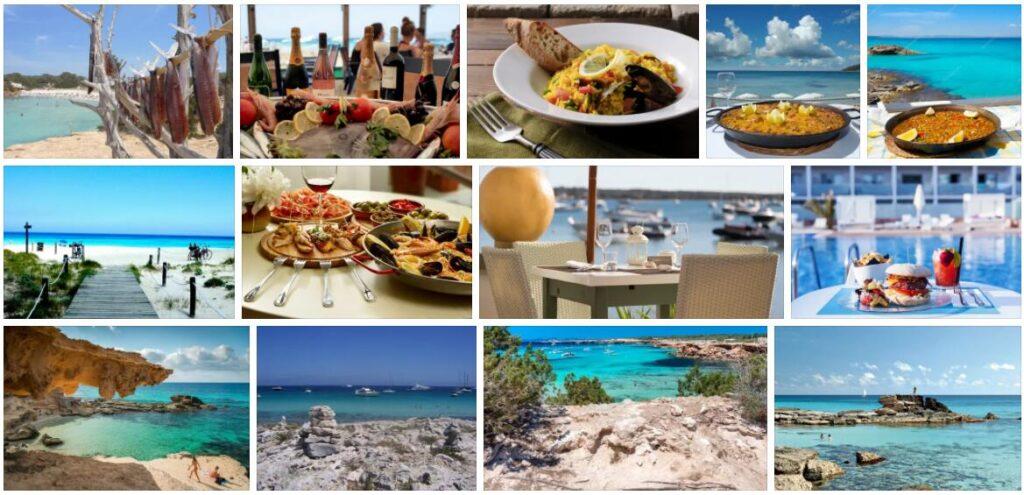 Food in Formentera, Spain