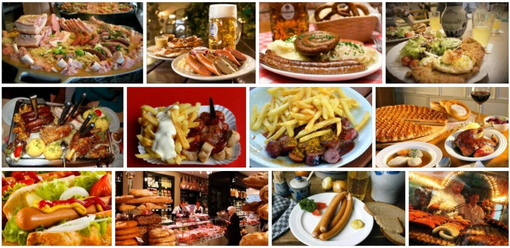 Food in Frankfurt, Germany