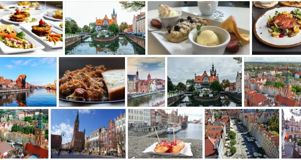 Food in Gdansk, Poland