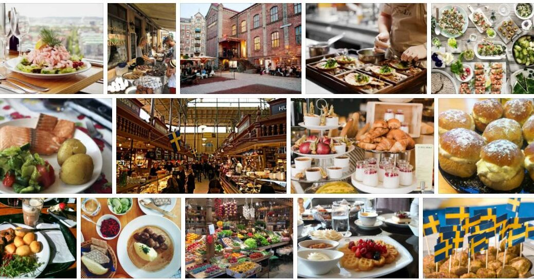Food in Gothenburg, Sweden