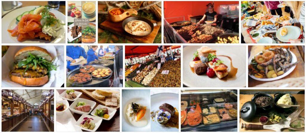 Food in Helsinki, Finland