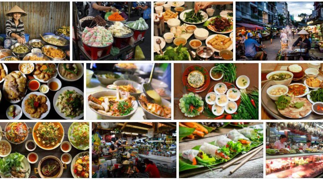 Food in Ho Chi Minh City, Vietnam