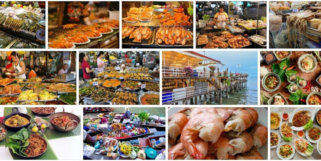 Food in Hua Hin, Thailand