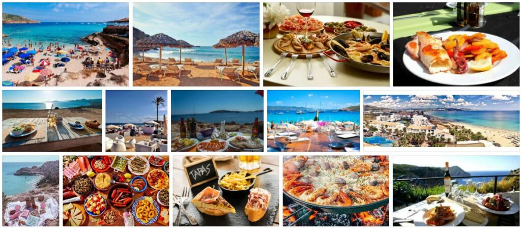 Food in Ibiza, Spain