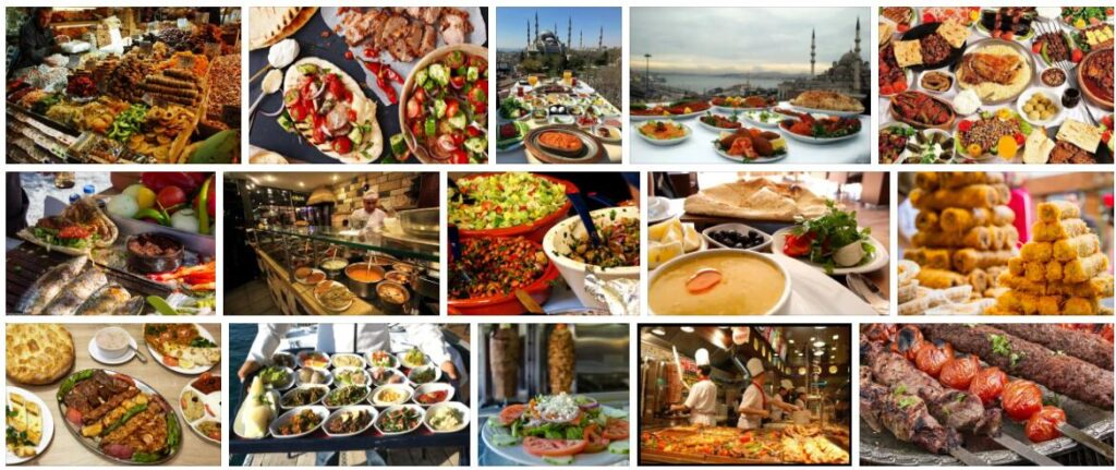 Food in Istanbul, Turkey