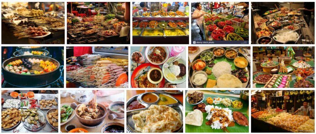 Food in Kuala Lumpur, Malaysia