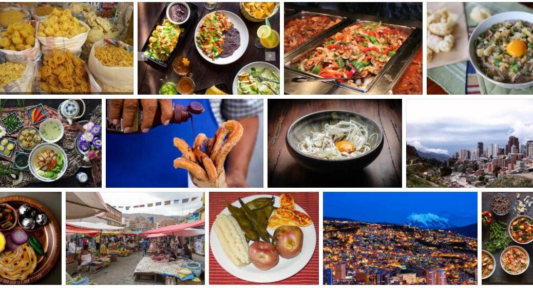Food in La Paz, Bolivia