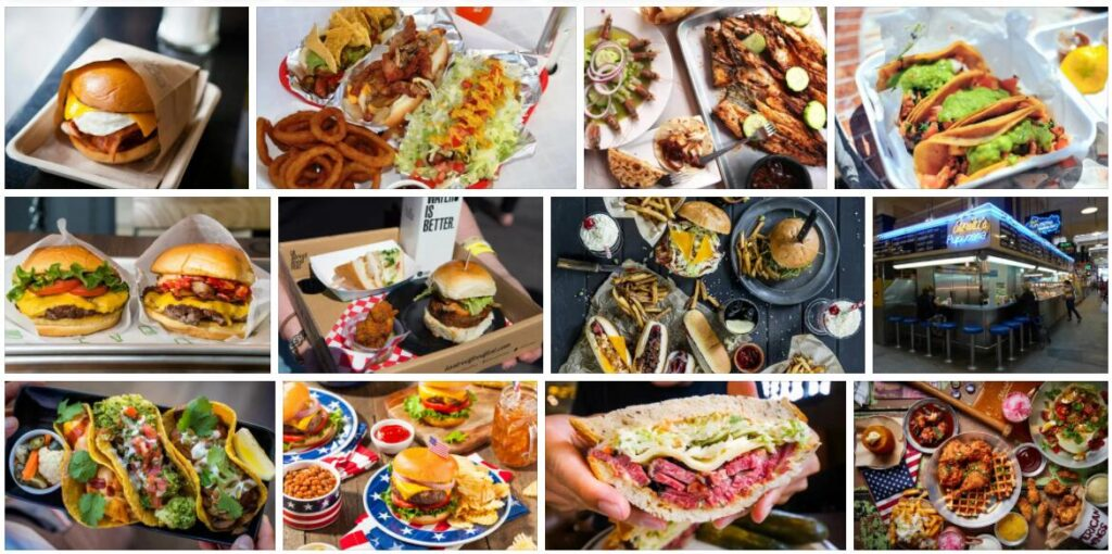 Food in Los Angeles, USA