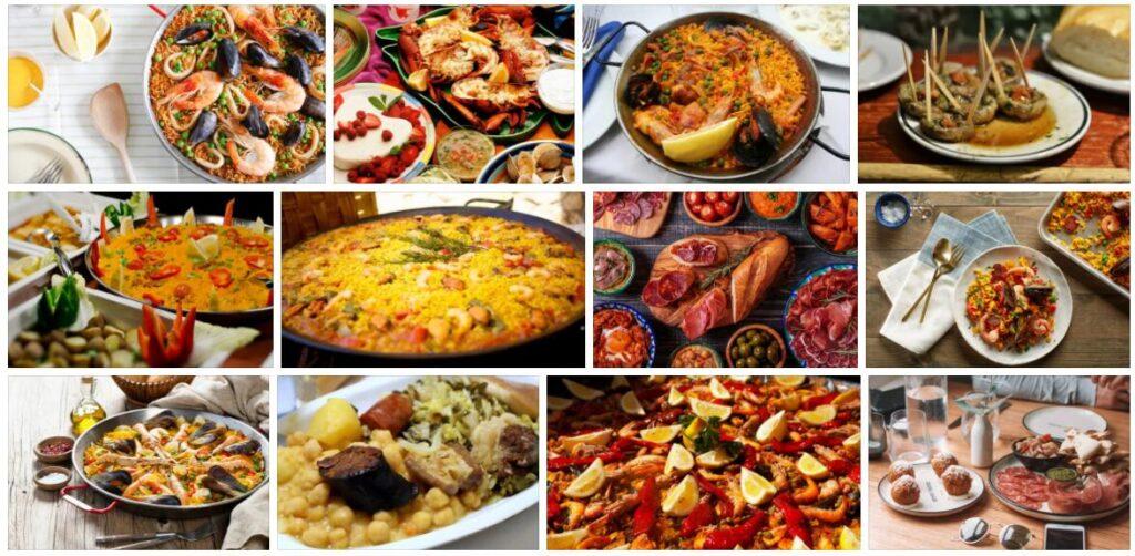 Food in Madrid, Spain