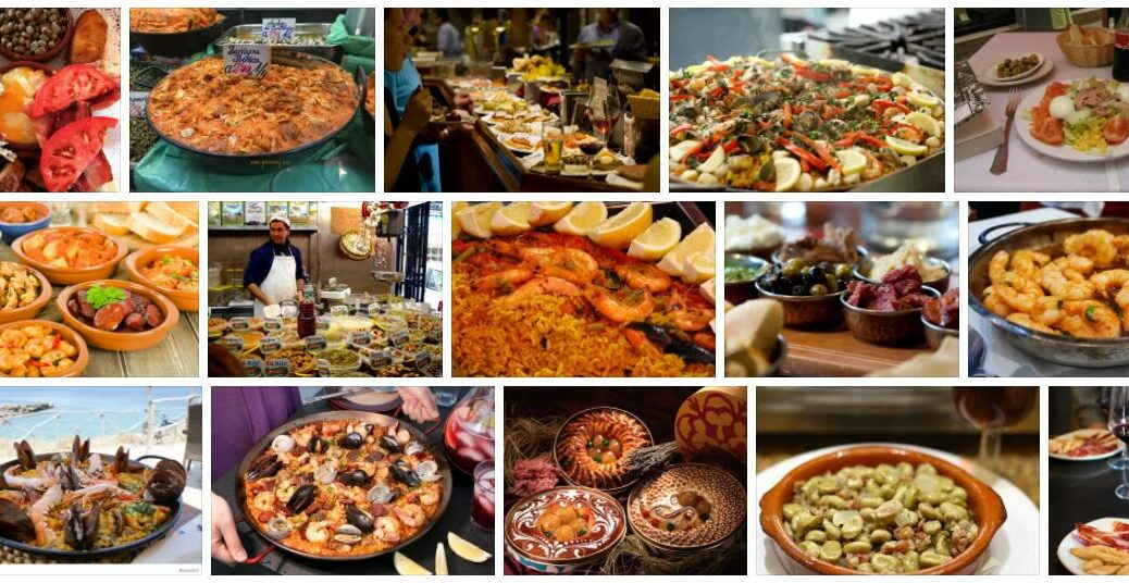 Food in Malaga, Spain