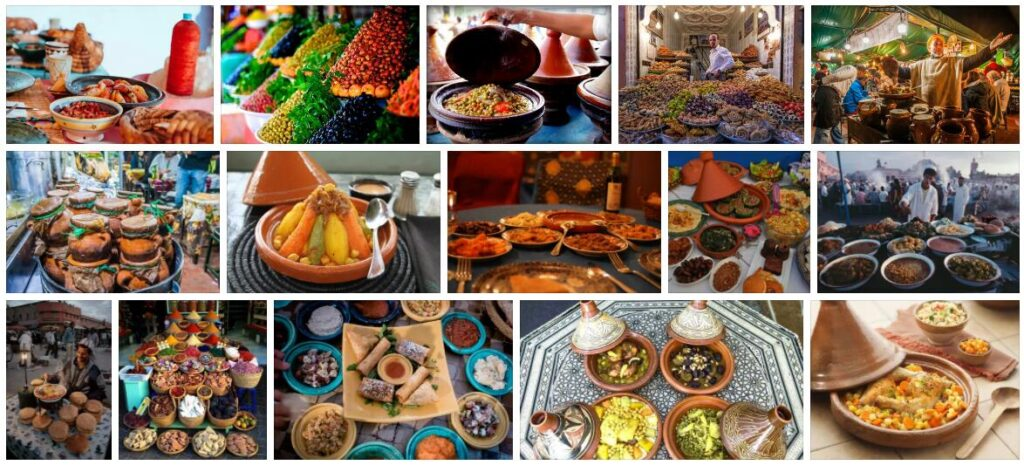 Food in Marrakech, Morocco