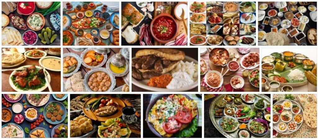 Food in Mostar, Bosnia and Herzegovina