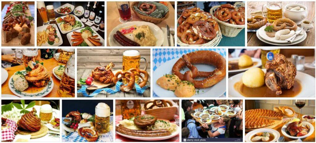 Food in Munich, Germany
