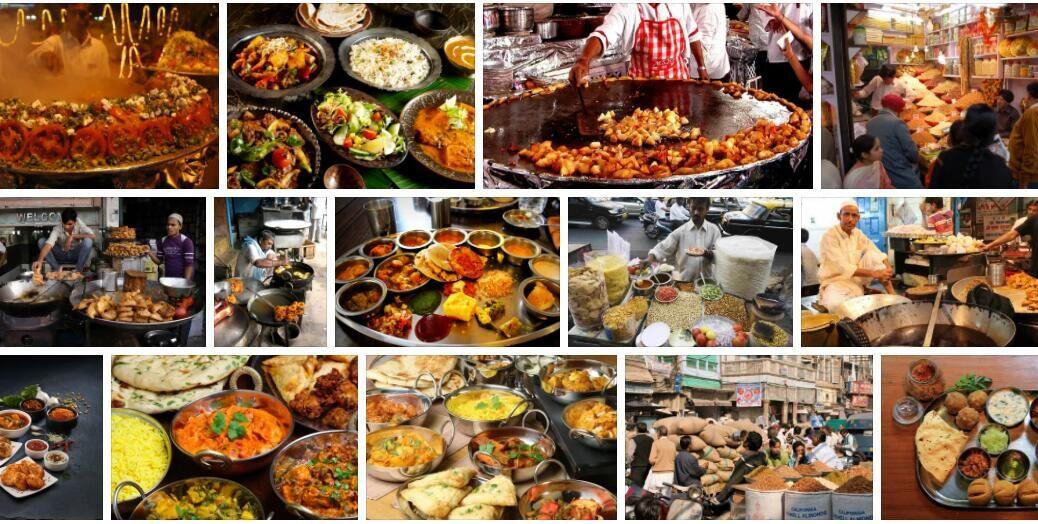 Food in New Delhi, India