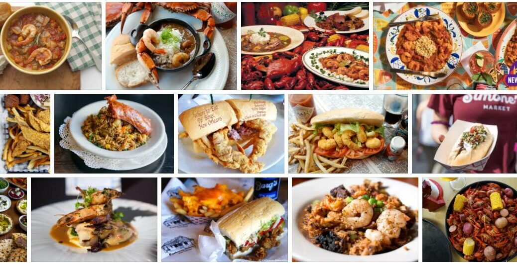 Food in New Orleans, USA