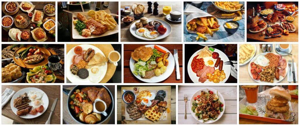 Food in Newcastle, U.K.