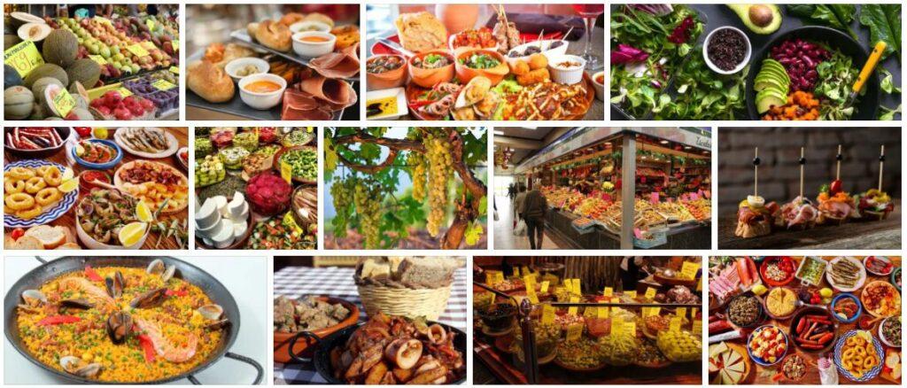 Food in Palma, Spain