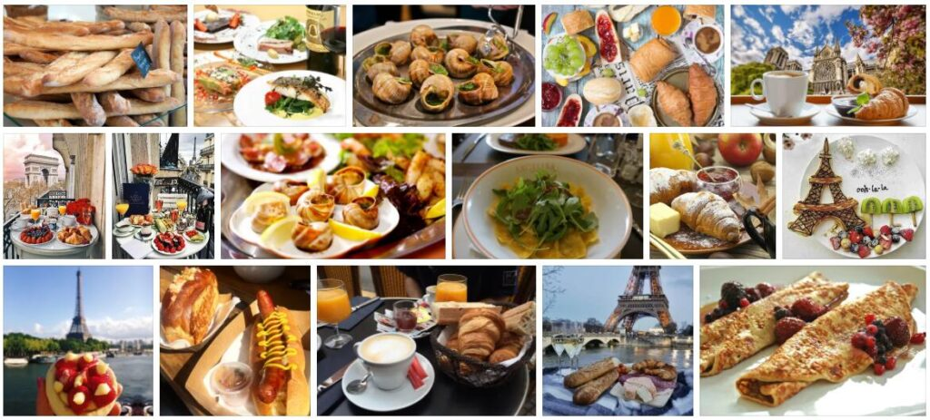Food in Paris, France
