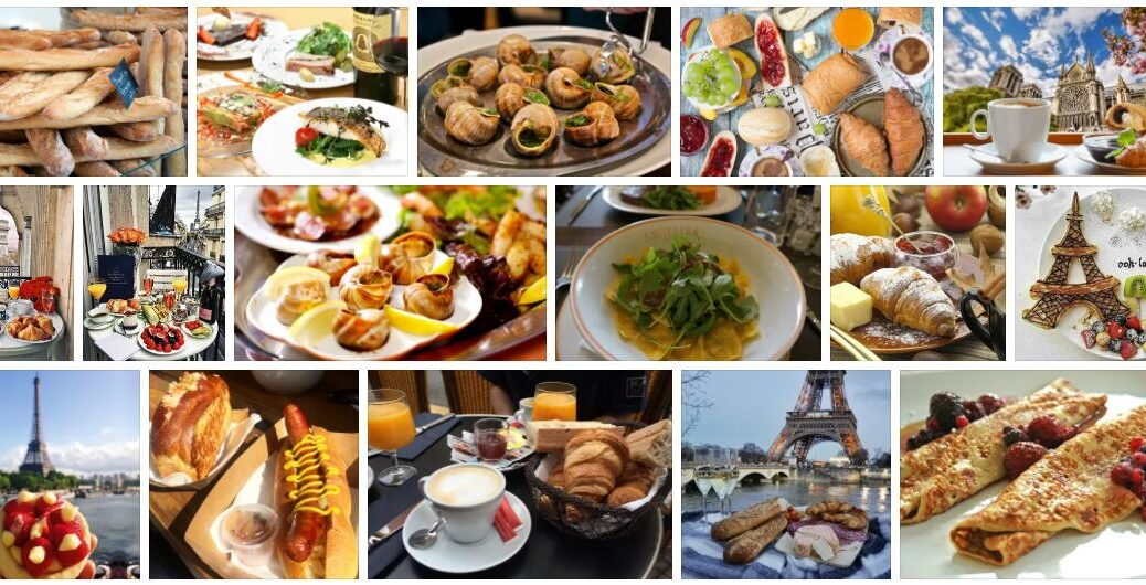 Food in Paris, France