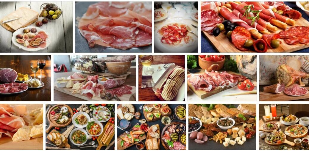 Food in Parma, Italy