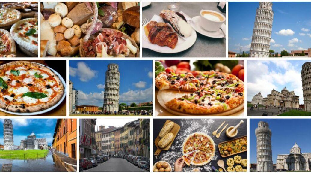 Food in Pisa, Italy