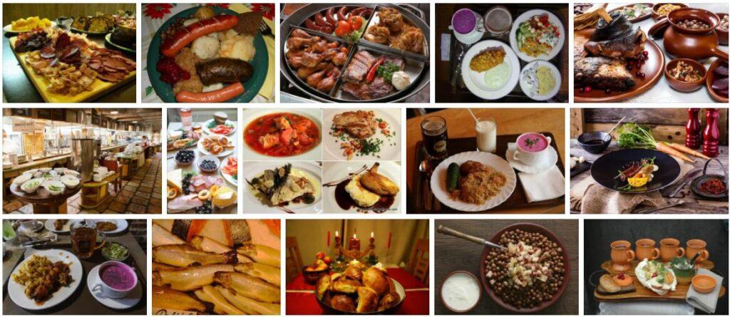 Food in Riga, Latvia