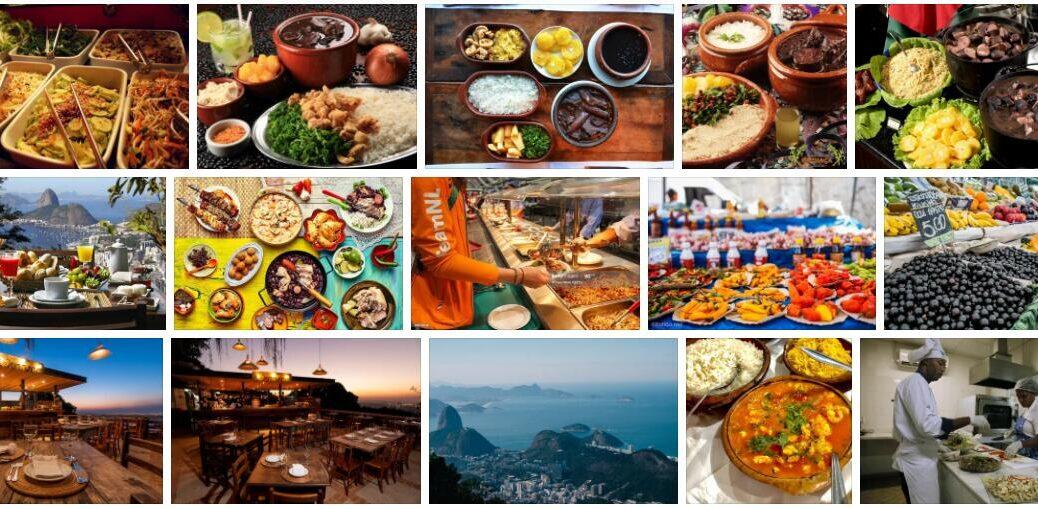Food in Rio de Janeiro, Brazil