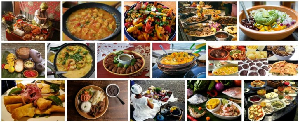 Food in Salvador, Brazil