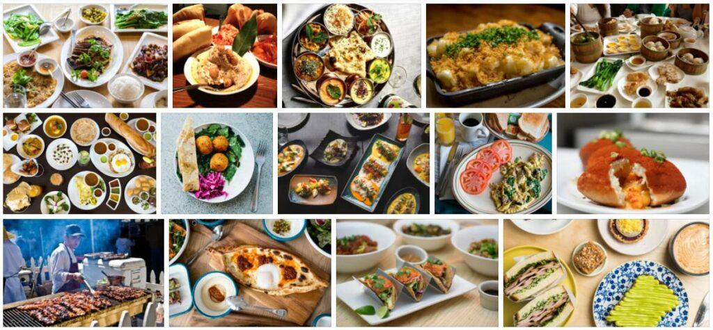 Food in San Francisco, USA