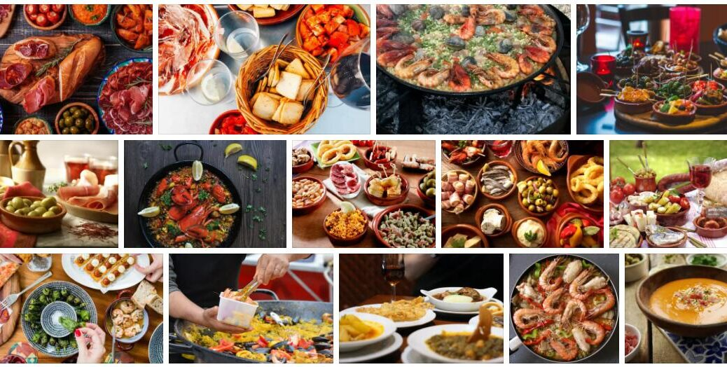 Food in Seville, Spain