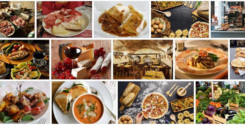 Food in Siena, Italy