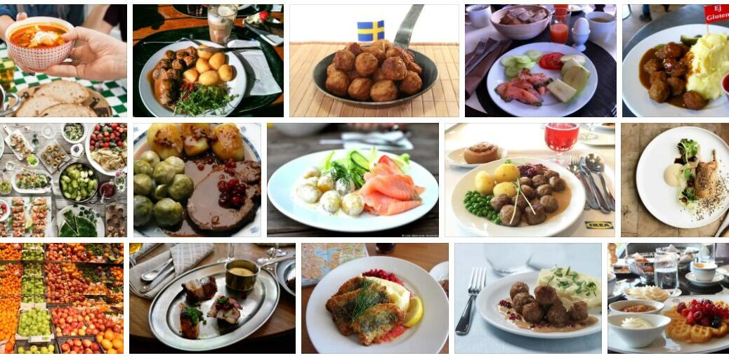 Food in Stockholm, Sweden
