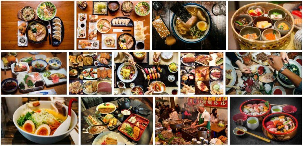 Food in Tokyo, Japan