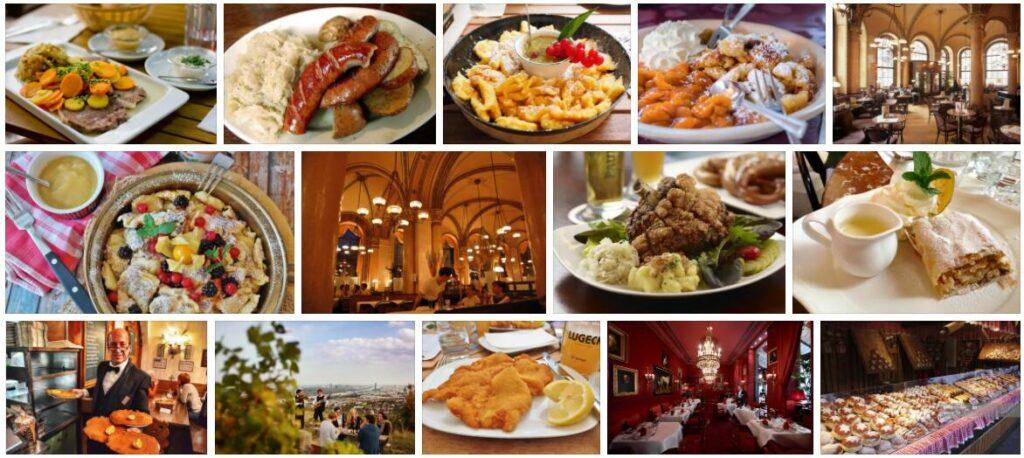Food in Vienna, Austria
