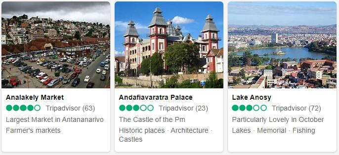 Madagascar Attractions